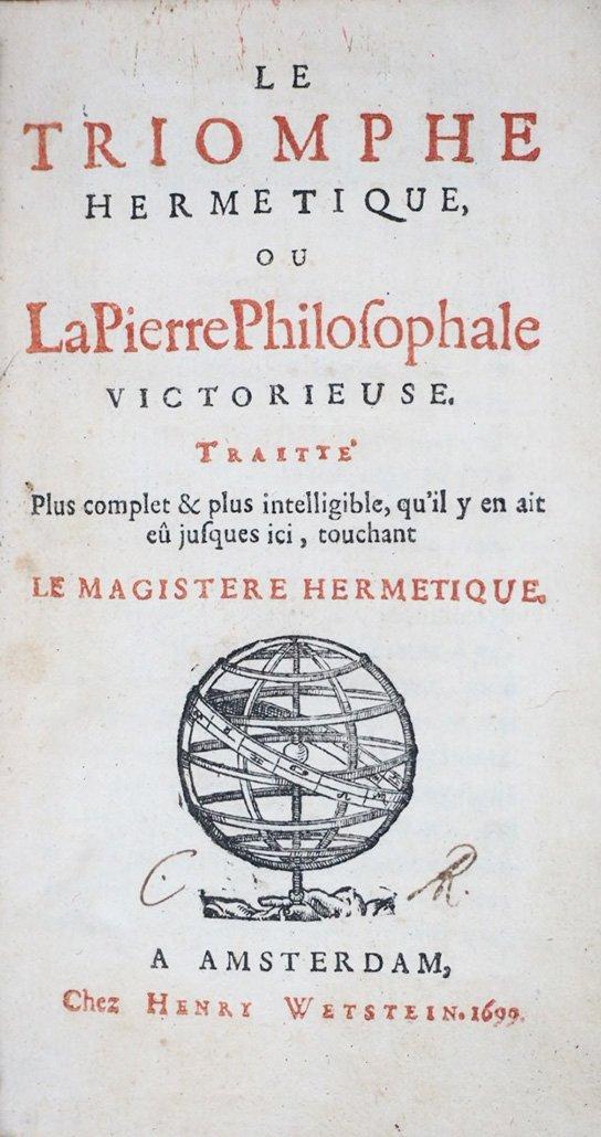 LIMONJON. Le Triomphe hermetique - 2