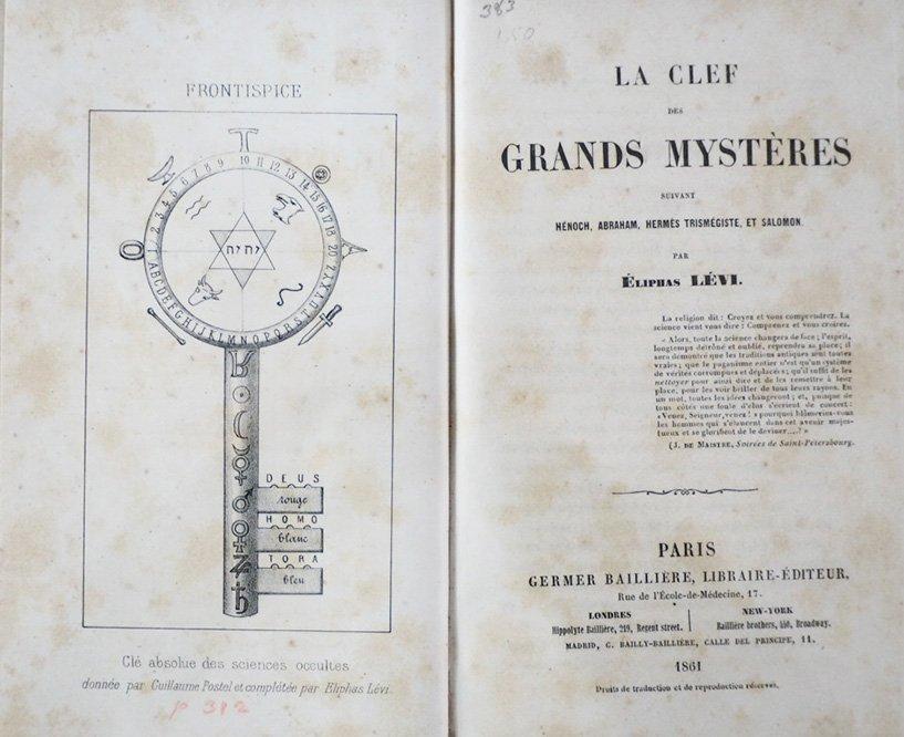 [CABALA] La Clef des Grands Mystères - 3