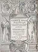 ARGOLI, Andrea. Novae Caelestium Motuum Ephemerides
