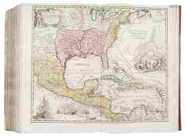 HOMANN ATLAS. Collection of 125 maps