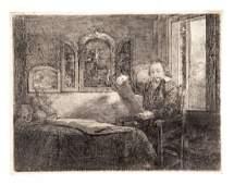 REMBRANDT. Abraham France, speziale.