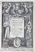 Emblems. ALCIATI. Emblemata