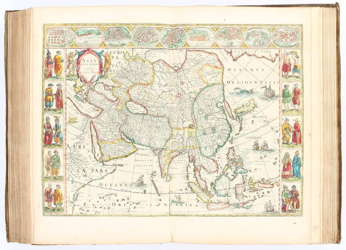 Atlante. Willem Janszoon Blaeu. Novus Atlas.