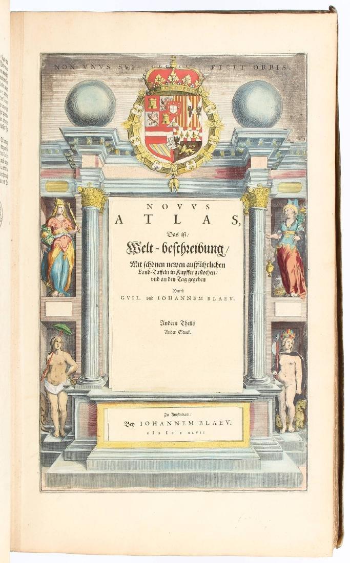 Atlante. Willem Janszoon Blaeu. Novus Atlas. - 3