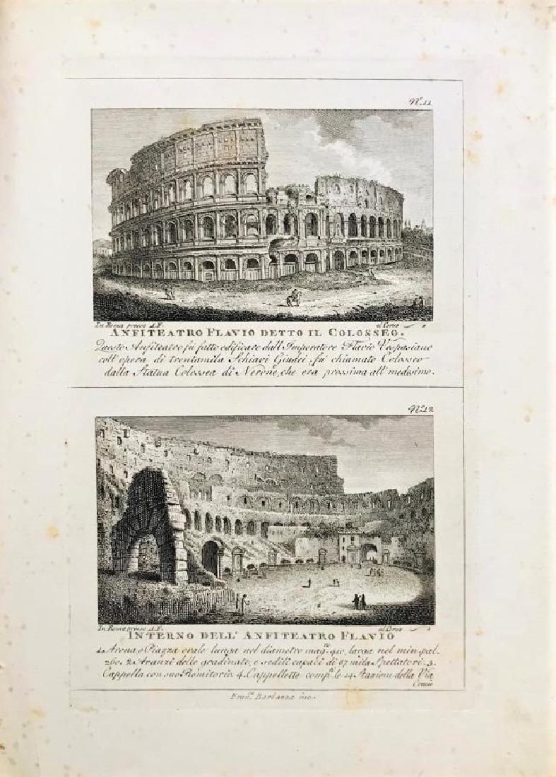 ROME. Agapito Franzetti. Vedute di Roma.