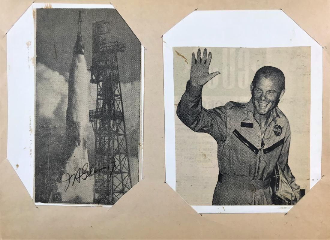 John Glenn. John Glenn Signature.