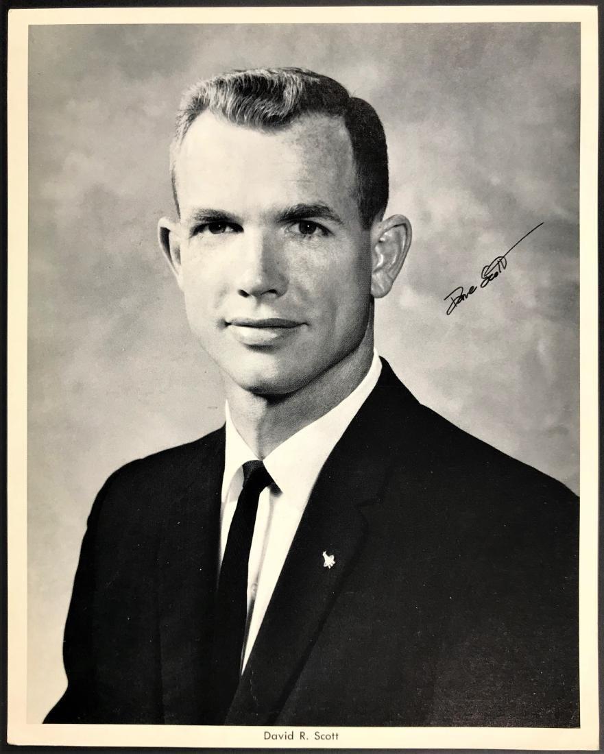 David Randolph Scott. Signed Inscribed Photo.