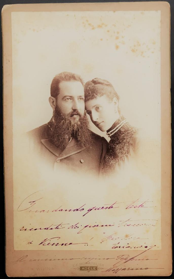 Anonimo. Ritratto di copia di sposi.