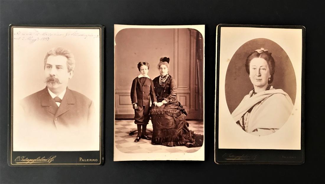 Eugenio Interguglielmi. Tre ritratti.