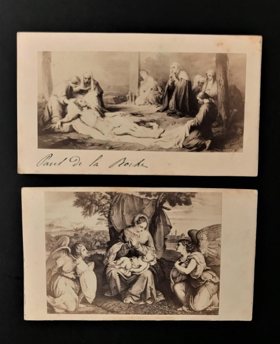 Albumina. Alderoni-Barelli. Tiziano e Paul Delaroche.
