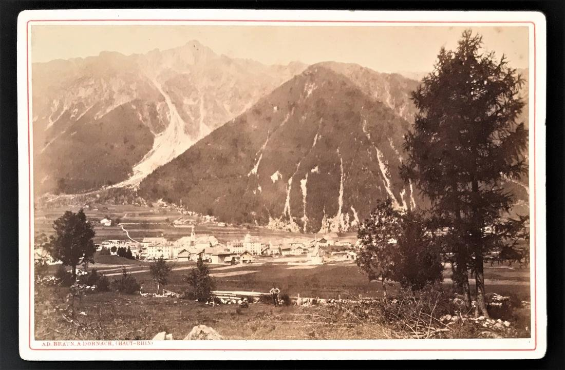 Albumina. Braun. Valle'e de Chamonix. Due foto.