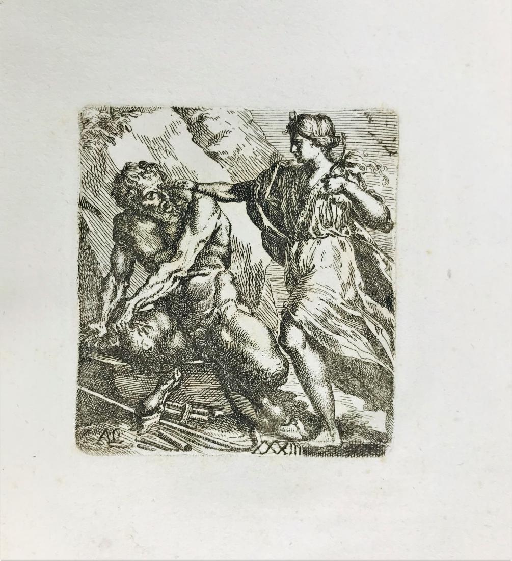 CARRACCI-BELLAVIA. Album of engravings - 2