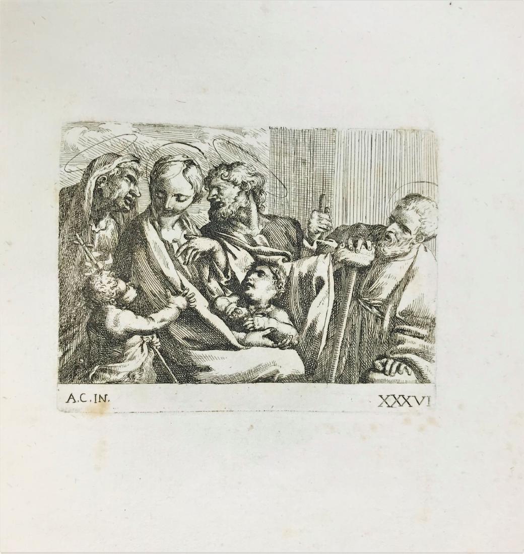 CARRACCI-BELLAVIA. Album of engravings - 3