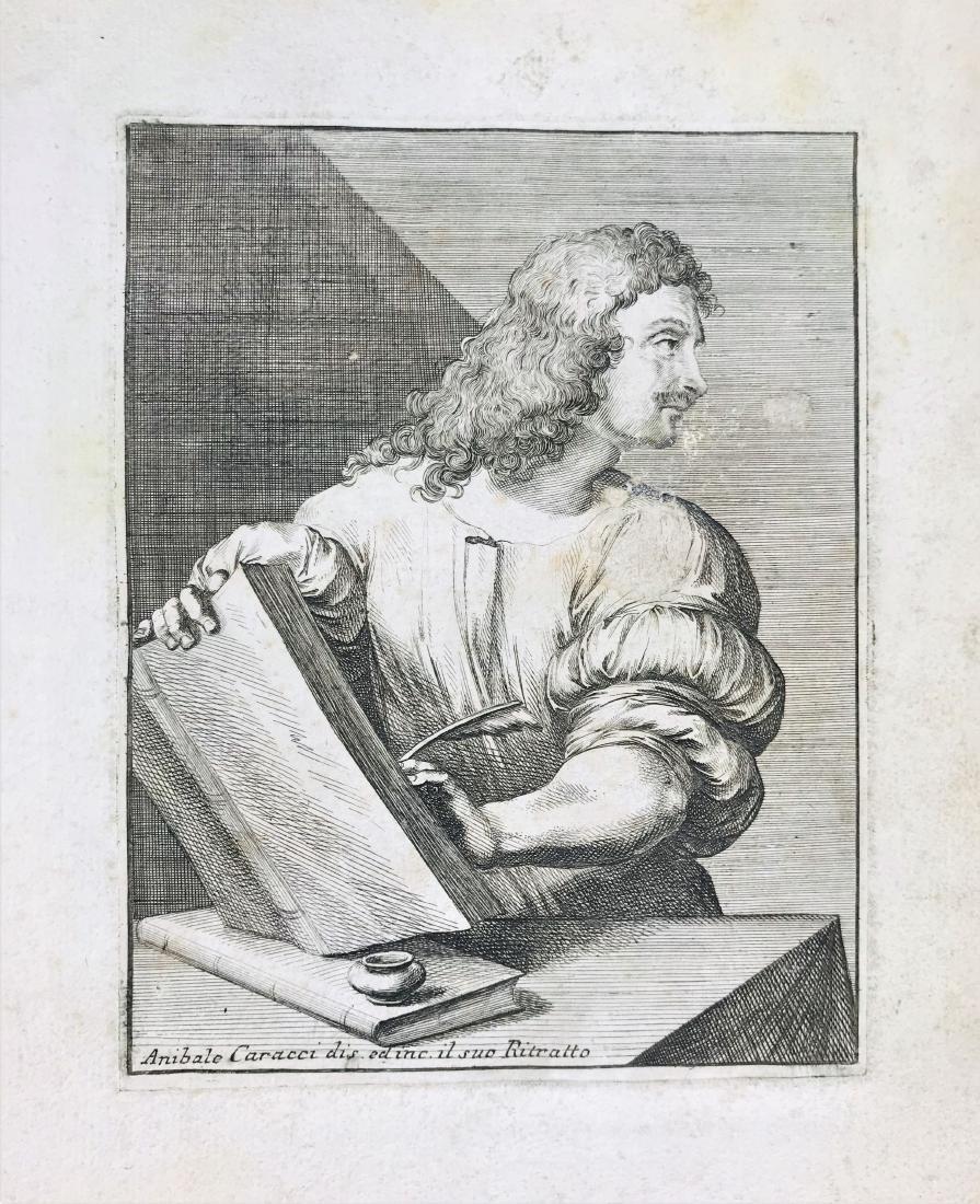 CARRACCI-BELLAVIA. Album of engravings - 4