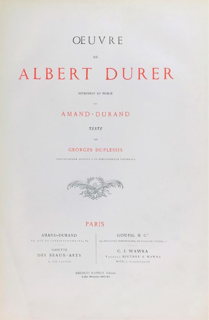 DURER. SPLENDID ALBUM OF ENGRAVINGS - 6