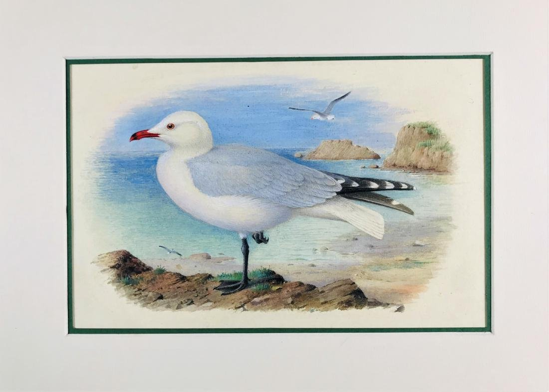 GRONVOLD.  lot of 3 watercolors. - 2