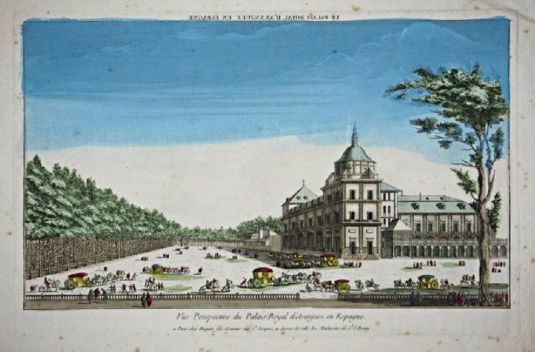 Spain-Monastere Royal de l'Escurial. 3 views - 2