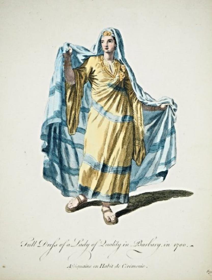 Asia Minor. Charles Ferriol. 5 arabian costumes.
