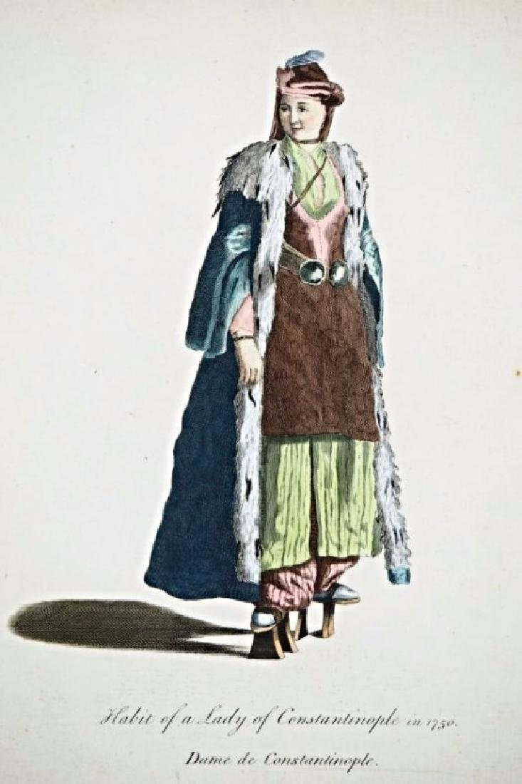 Asia Minor. Charles Ferriol. 5 arabian costumes. - 2