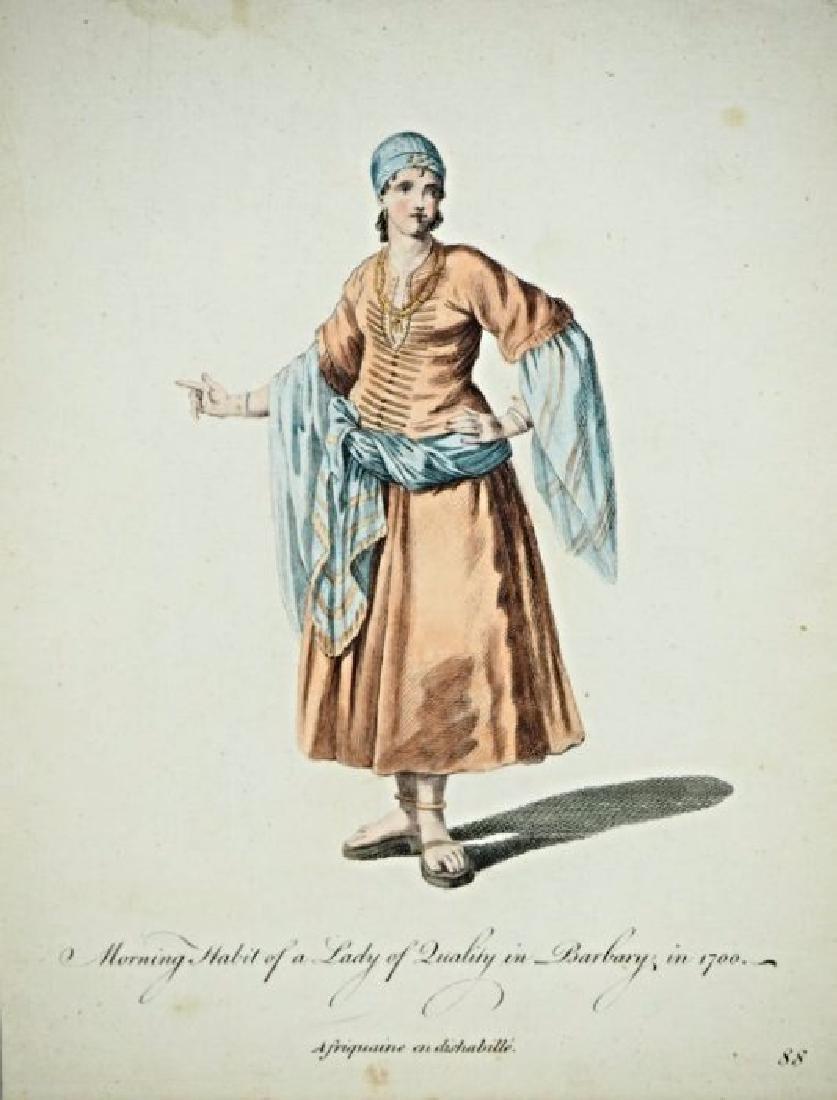 Asia Minor. Charles Ferriol. 5 arabian costumes. - 4