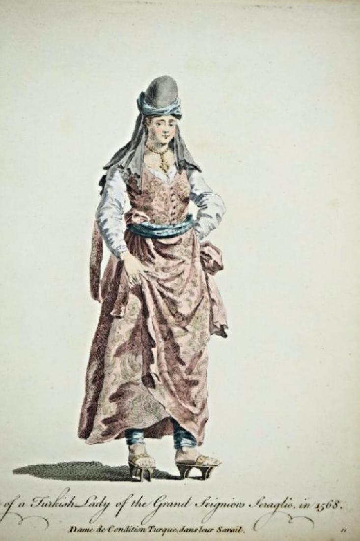 Asia Minor. Charles Ferriol. 5 arabian costumes. - 5