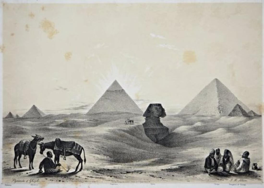 Egypt. John Harden Allen. Six views on Egypt. - 2