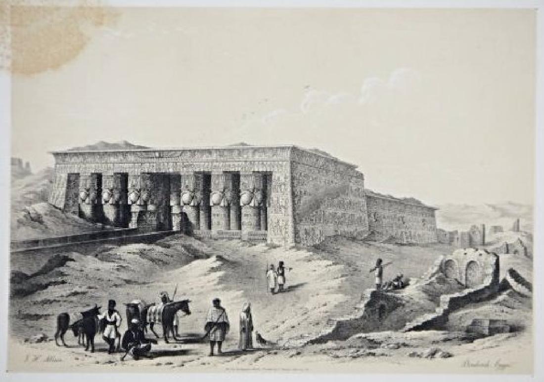 Egypt. John Harden Allen. Six views on Egypt. - 3