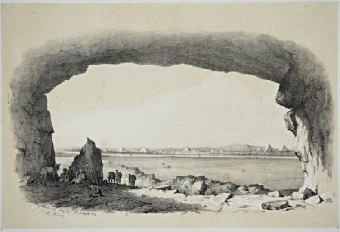Egypt. John Harden Allen. Six views on Egypt. - 6