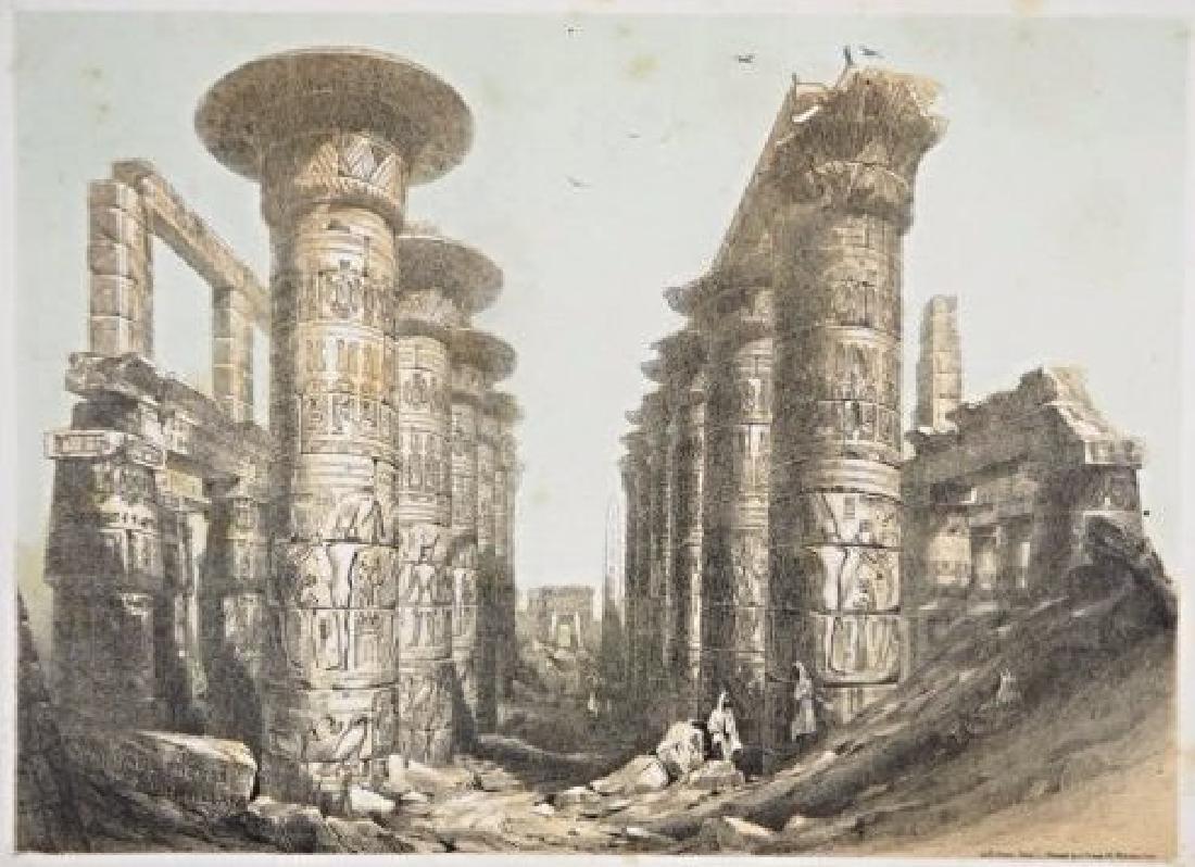 Egypt. John Harden Allen. Seven views on Egypt.