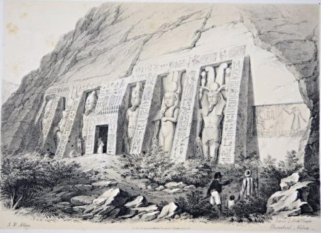 Egypt. John Harden Allen. Seven views on Egypt. - 2