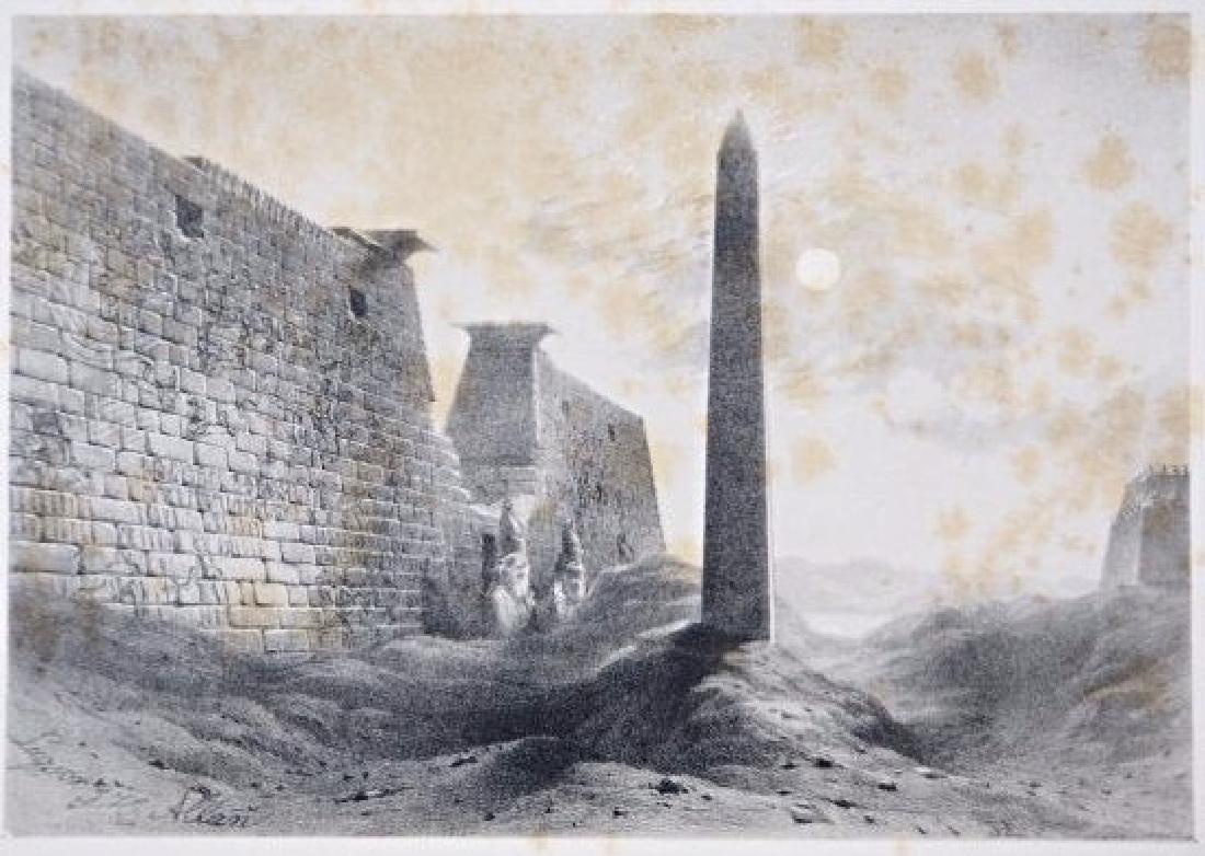 Egypt. John Harden Allen. Seven views on Egypt. - 5