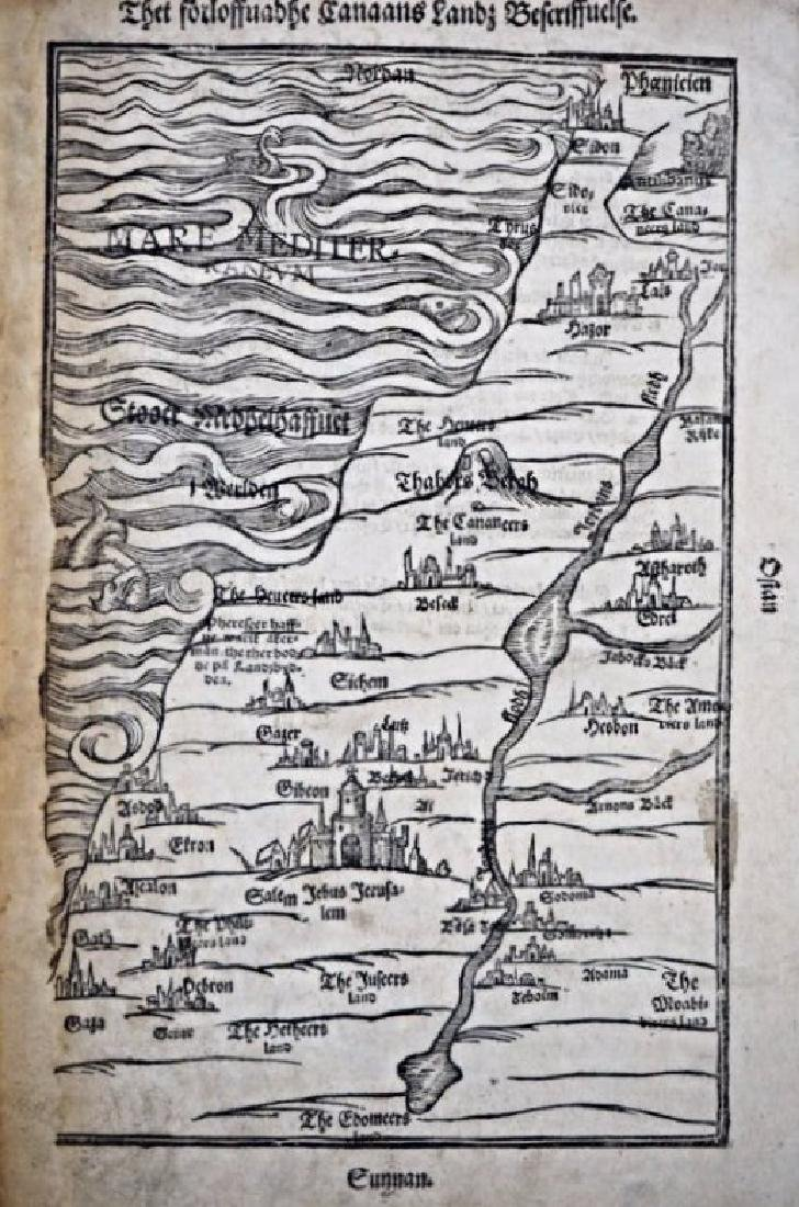 Galilea and Samaria. Two maps of Galilea and Samaria.