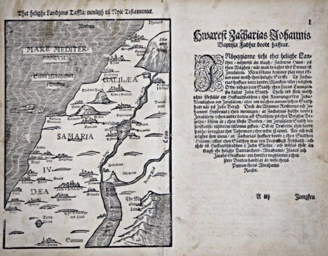 Galilea and Samaria. Two maps of Galilea and Samaria. - 2
