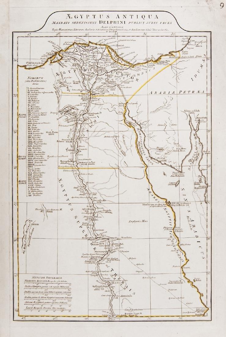 Egypt. D'Anville. Aegyptus Antiqua.