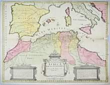 Africa. Delisle - Senex. Africae.