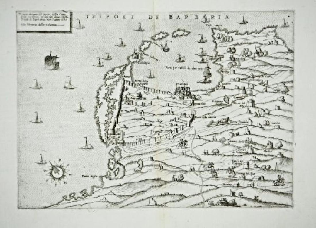 Ballino - Zenoi. Tripoli de Barbaria.