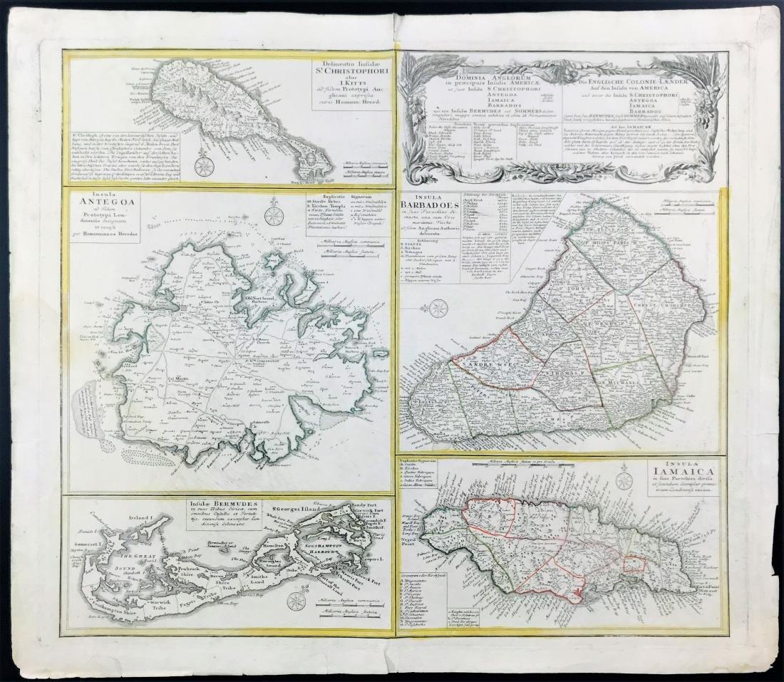 Antilles. Dominia Anglorum in principuis insulis...