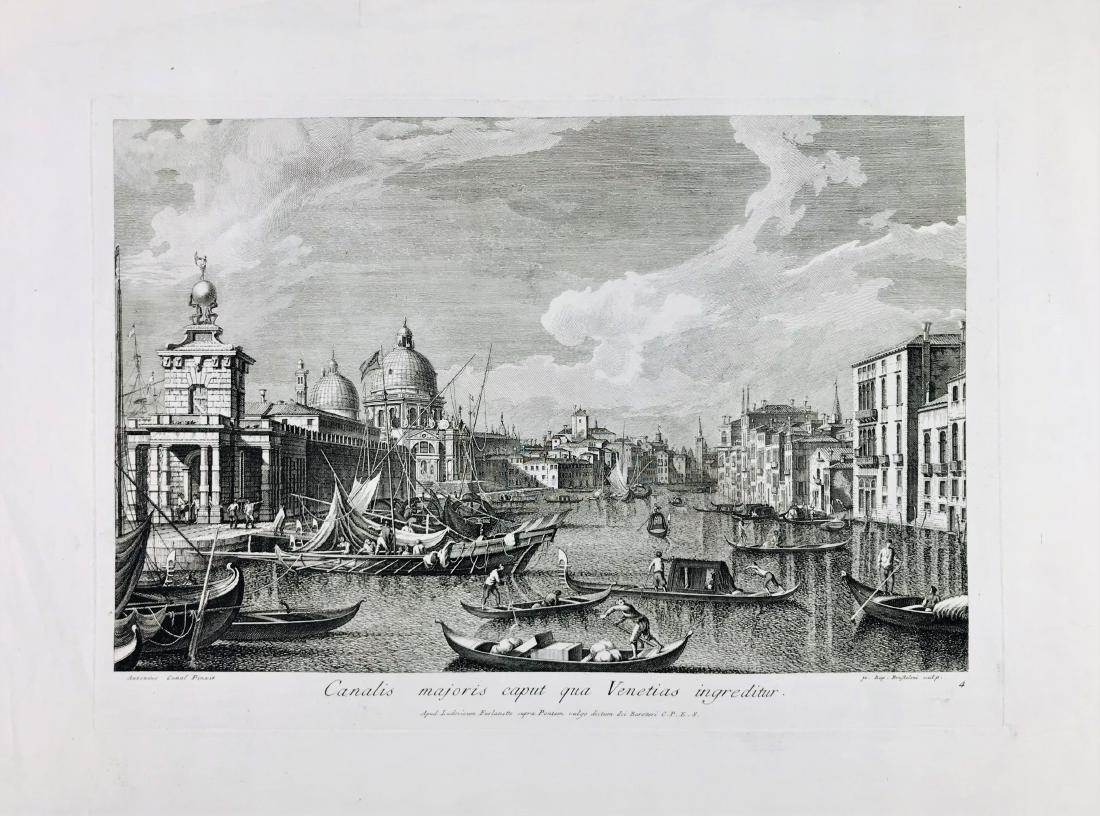 Brustolon. Canalis majoris caput qua Venetias...