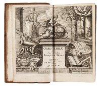 Rare Atlas with 103 maps. MUELLER. Geographia Totius...
