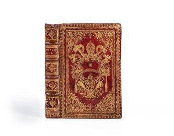 Red Morocco Binding. BONUCCI. Vita della B. Michelina..