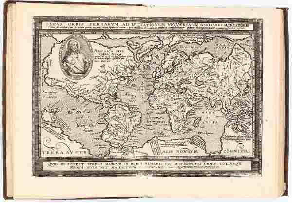 Atlas. QUAD. Europae Totius Orbis Terrarum Partis