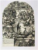 DUVET. The artist Jean Duvet in the guise of St. John