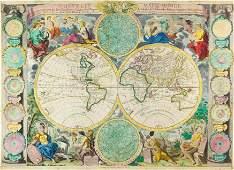 Globe BAILLEUL Nouvelle mappemonde avec la repr233