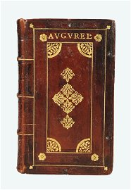Aldine. AUGURELLUS. Jamblicus [e altre opere poetiche].