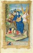 Illuminated French Book of Hours. Horae B. Mariae