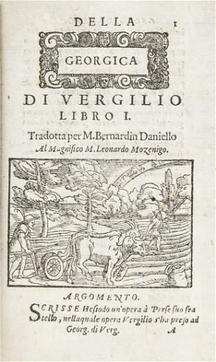 VIRGILIO. L'opere di Vergilio.