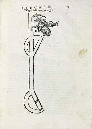 Horse. FIASCHI. Trattato dell'Imbrigliare. 1603