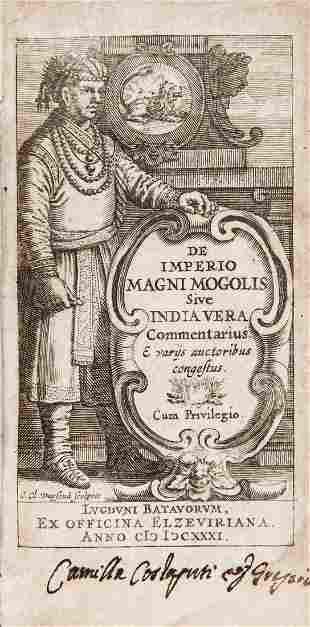 India. LAET. De Imperio Magni Mogolis, sive, India