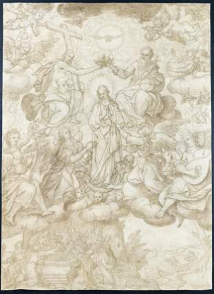 CASOLANI. Coronation of the Virgin with Angels and