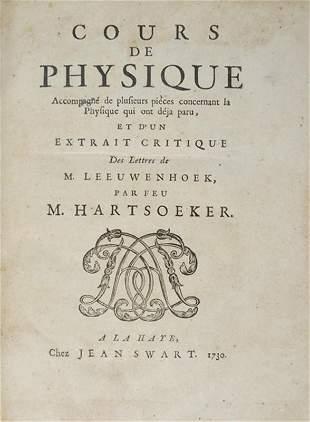 Mineralogy-Physics. HARTSOEKER. Cours de Physique.